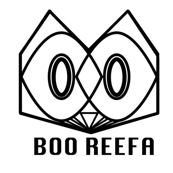 Boo Reefa's famous cat morphing into an owl logo